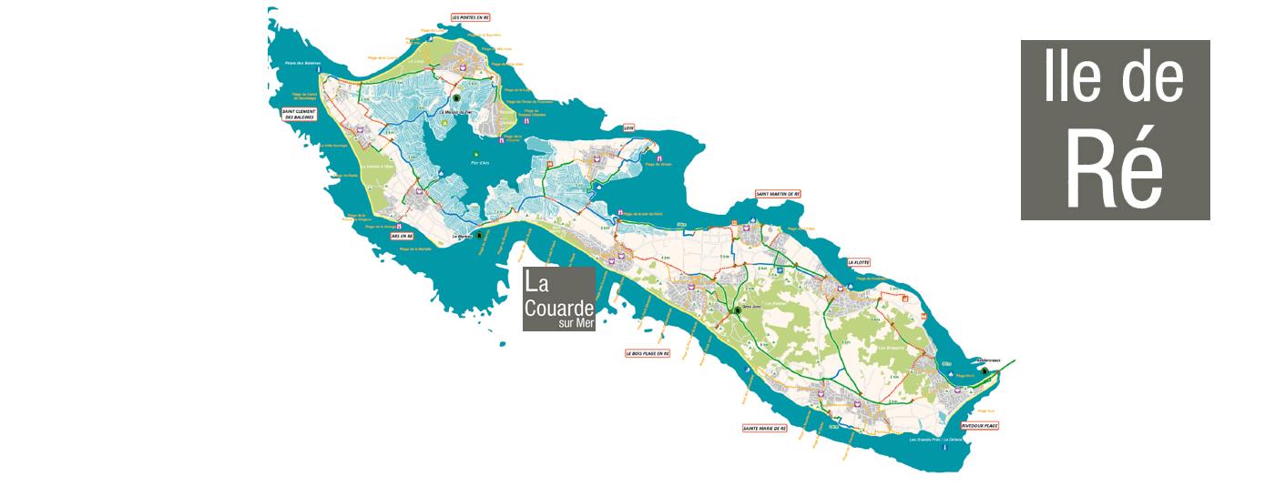 <strong> La Couarde sur Mer </strong>: au cœur de l'Île de Ré